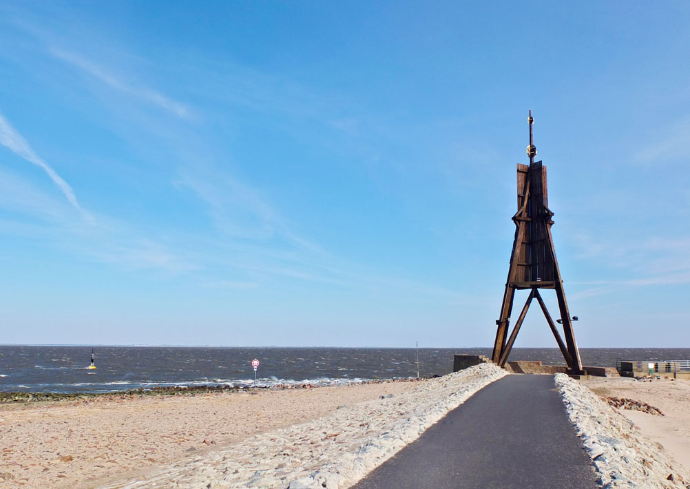kugelbake (ball beacon) - cuxhaven