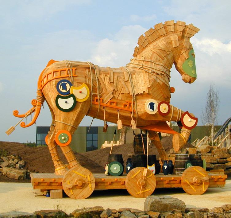 Trojanisches Pferd - Freizeitpark Toverland - Sevenum/NL