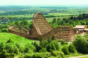 reference - mammut - wooden roller coaster - erlebnispark tripsdrill