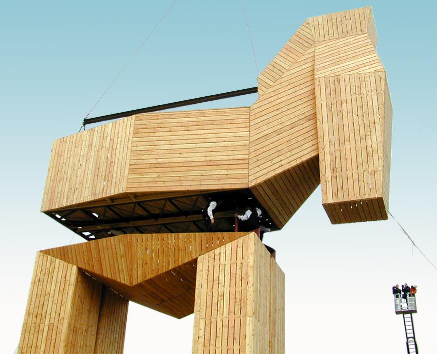 Trojanisches Pferd - Braunschweig/Stendal