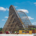 colossos - wooden roller coaster - heide-park soltau