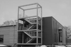 Verwaltungs- und Ausstellungsgebäude - Röhnert - Berlin