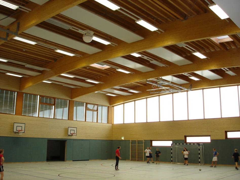 sports hall eichenschule - scheessel