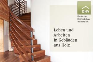 Holzfertigbau-Broschüre DHV (24 Seiten)