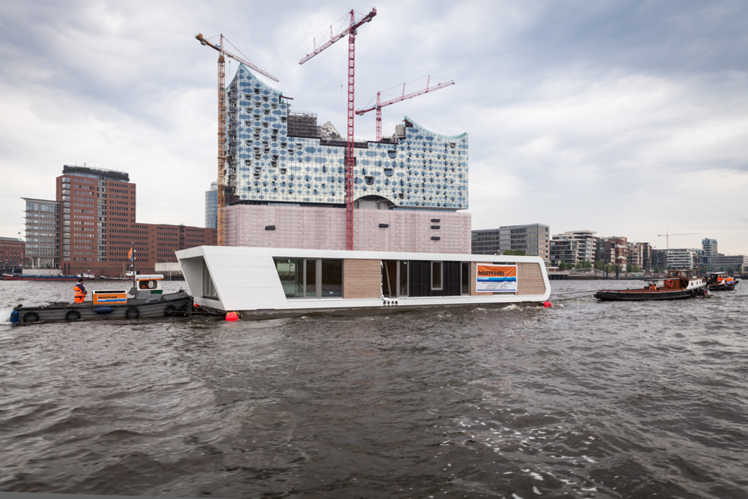 Hausboote in Hamburg - Floating Homes