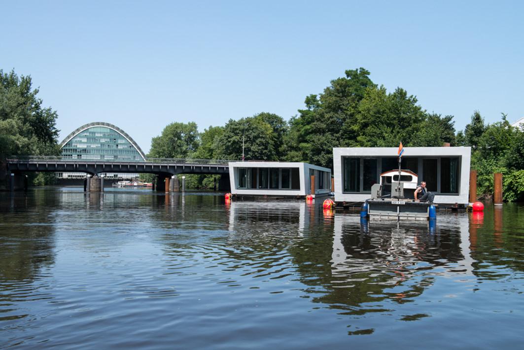 Hausboote in Hamburg - Floating Homes