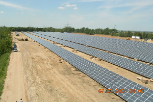 Solarpark Leipziger Land