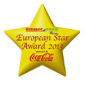 European Star Award 2013<BR>Best Wooden Roller Coaster