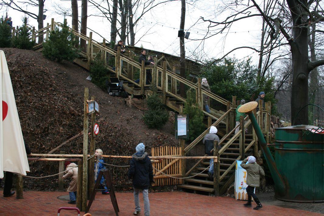 Rodelbahn im Zoo Hannover