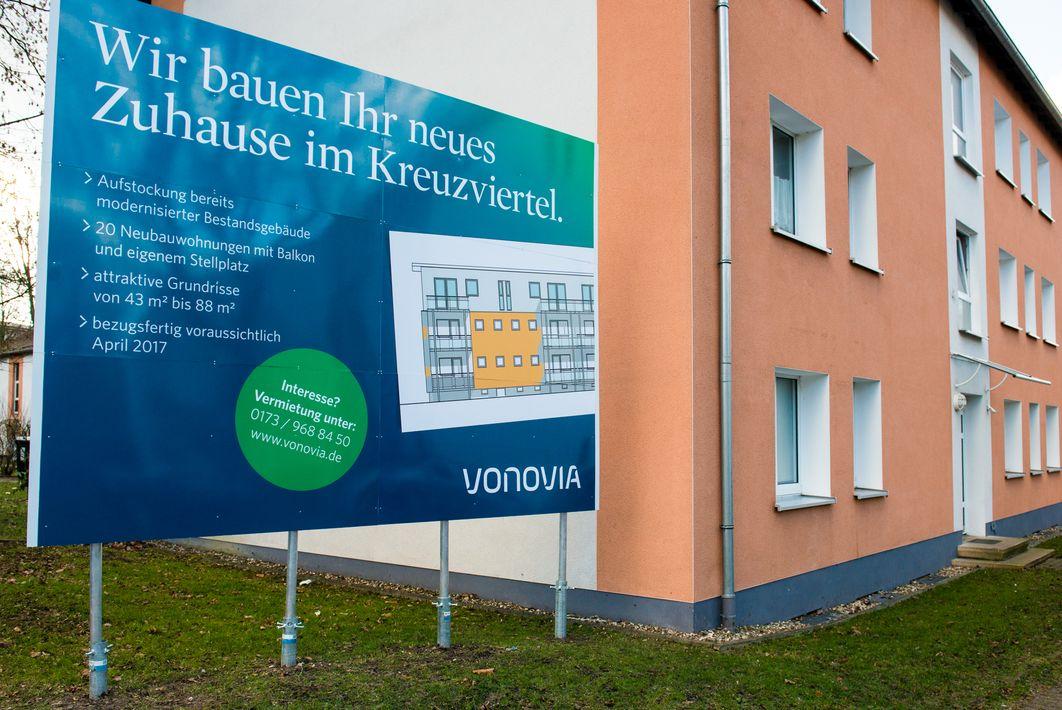 Aufstockung Kreuzviertel - Dortmund