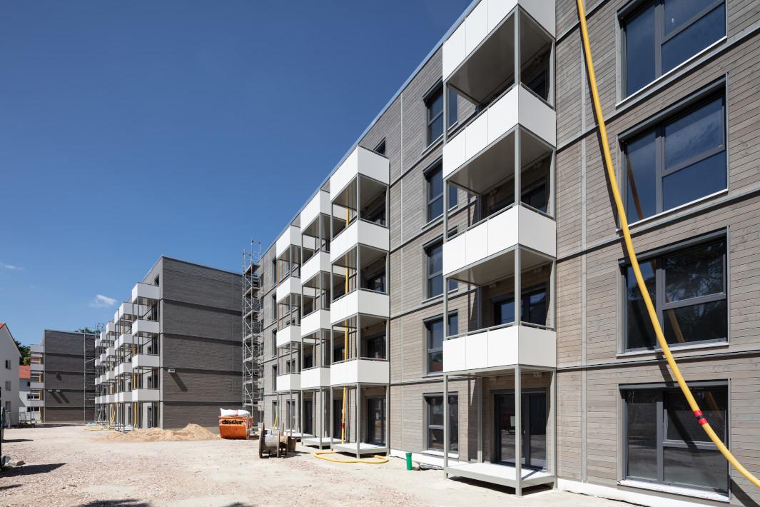 Holzunion - Mehrgeschossige Riegelbauten - Erlangen