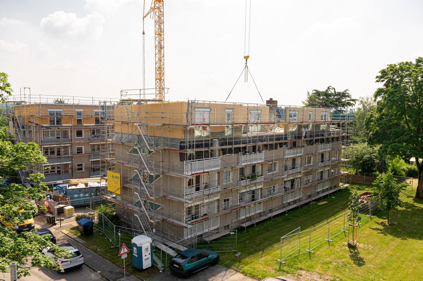 Holzunion - Aufstockung Monheim